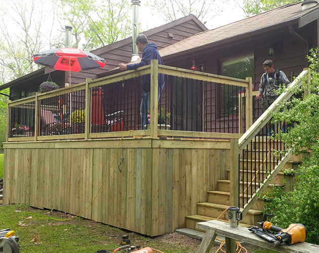 New Deck May 2014