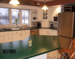 Kitchen Make Over - Before