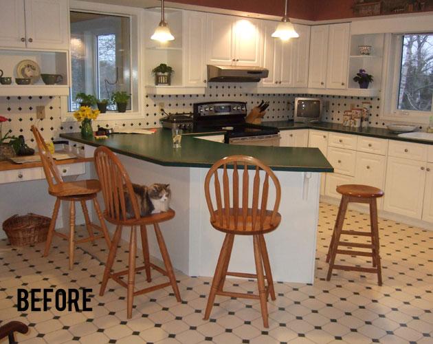Kitchen Make Over - Before