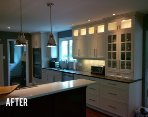 Complete Kitchen Renovation - After