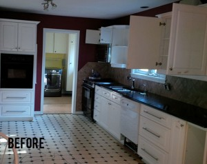 Complete Kitchen Renovation - Before
