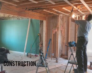 Complete Kitchen Renovation - During