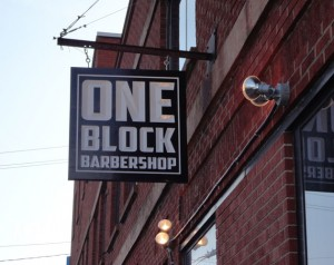 One Block Barbarshop - Exterior