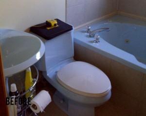 Small Bathroom - Before