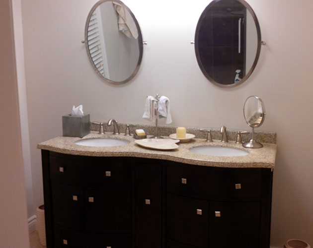 Two New Bathrooms