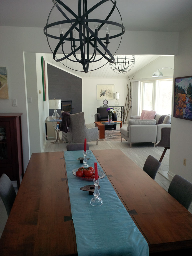 Living / Dining - After