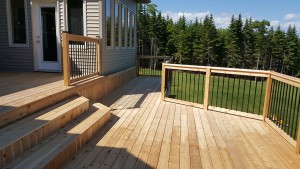 Plenty of Deck Space