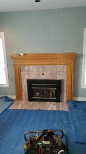Before: Ordinary Fireplace